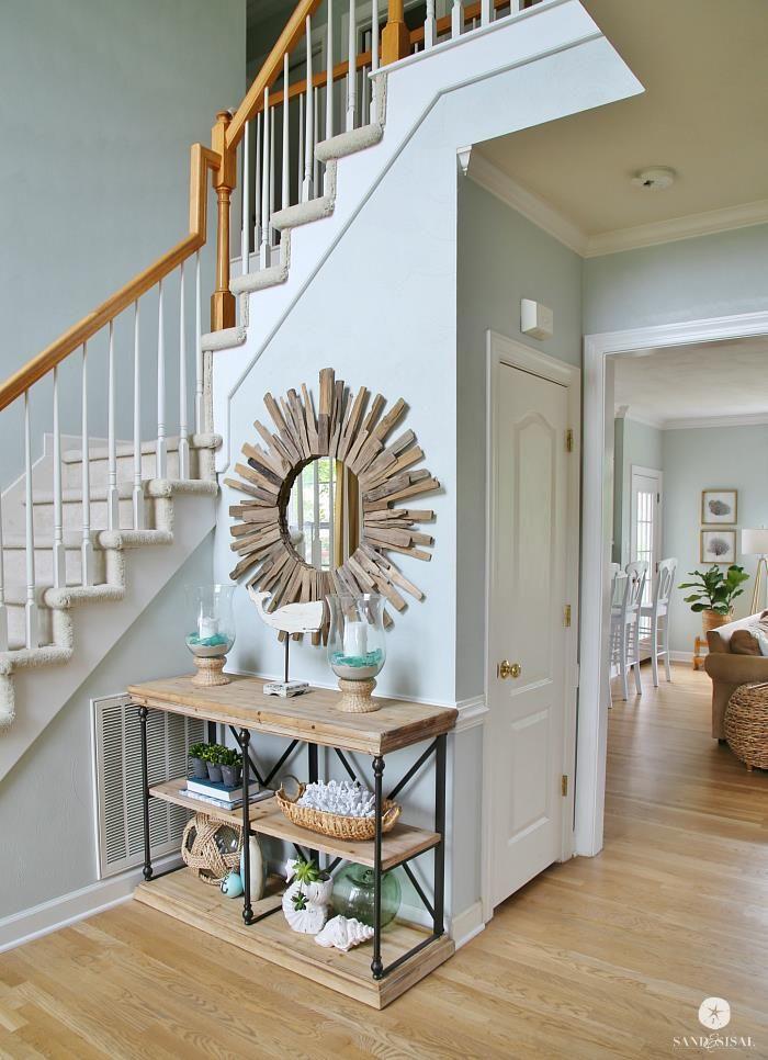 15 Entrance Hall Table Styles To Marvel At: Best 25+ Coastal Entryway Ideas On Pinterest