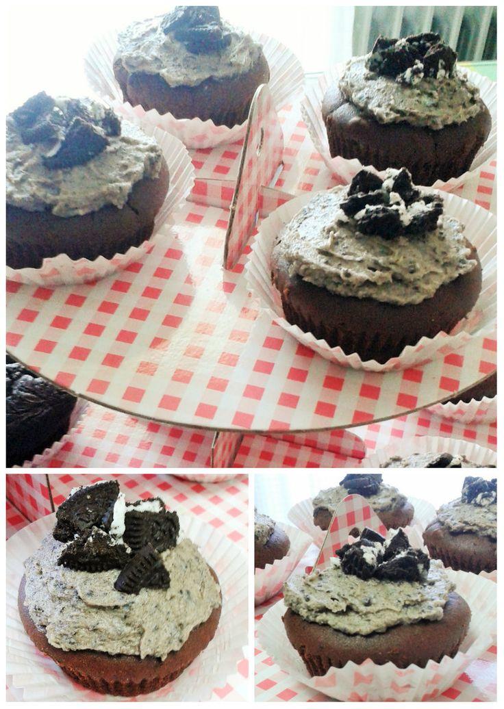oreo cupcakes!