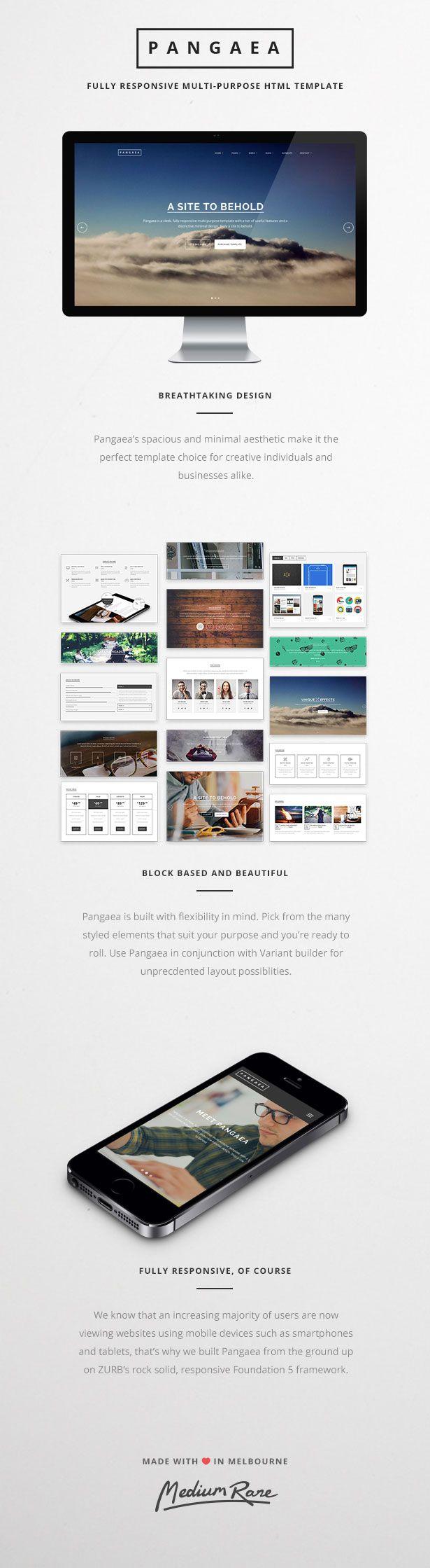 Pangaea Template HTML5