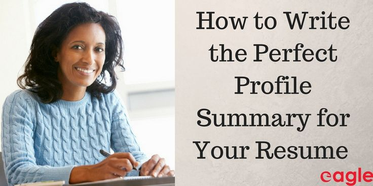 """In case you missed the memo, recruiters agree that the """"Objective"""" section in your resume is dead. What's not dead is the Profile Summary."""