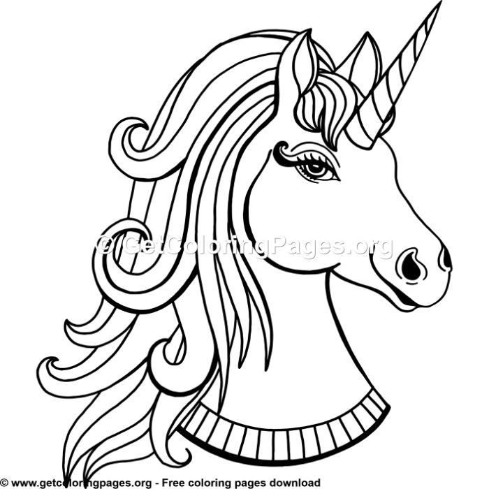Unicorn Dabbing Coloring Page Images