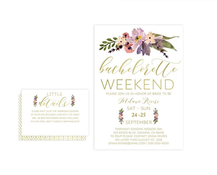 Best Bachelorette Party Invitation Images On   How To