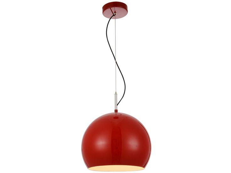Lampa wisząca czerwona Coco
