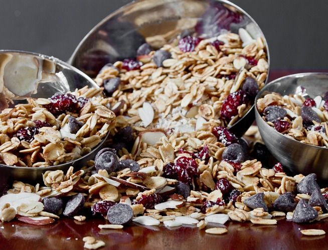 Coconut Almond Granola | Breakfast | Pinterest
