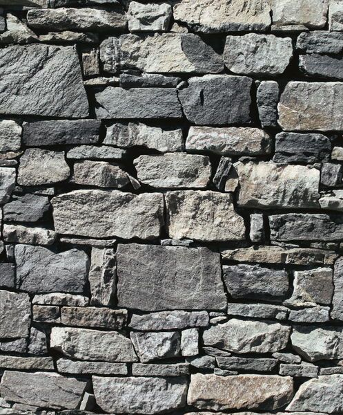 Tapet Area Granit 10 m x 53 cm Grå Non-woven - Svarta & Grå tapeter - Rusta