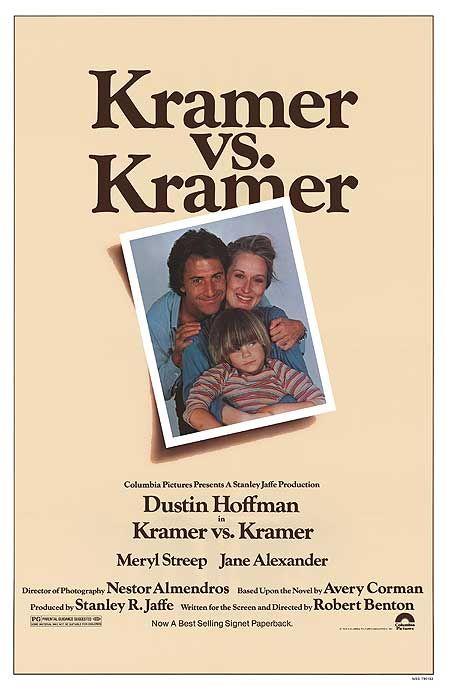 My Movies, My Words (from Abbott to Z): KRAMER VS. KRAMER
