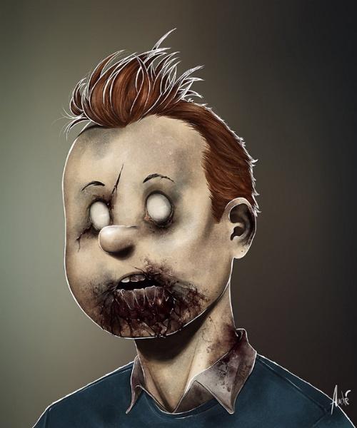 """Retratos Zombies"""