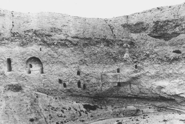 Spread of Buddhism - Buddhist caves in present-day Iran
