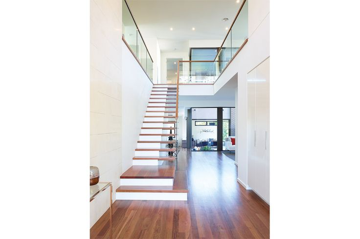 Love the stairs - love the look - plus half of under stairs is useable as mudroom storage