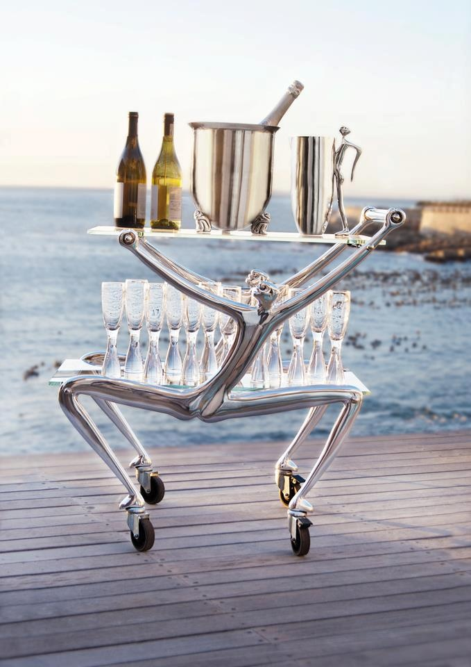 Carrol Boyes Bar Cart