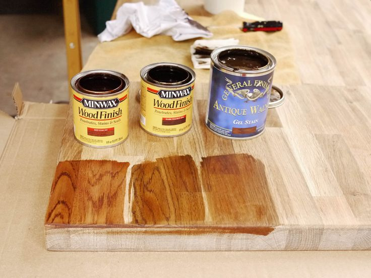 Minwax Special Walnut Stain On Walnut Wood Diy