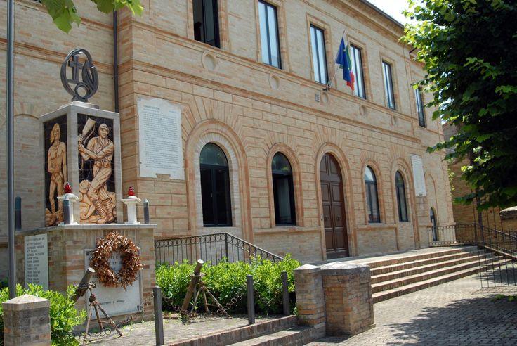 Palazzo comunale #marcafermana #montappone #fermo #marche