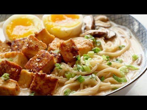 Homemade Spicy Ramen with Tofu Recipe - Pinch of Yum