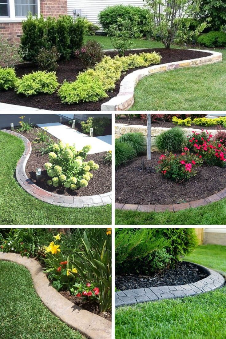 5+ Brilliant & Cheap Garden Edging Ideas With Pictures For 5
