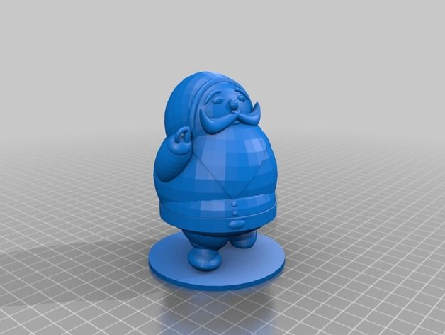 Mikulás 3D nyomtatóval