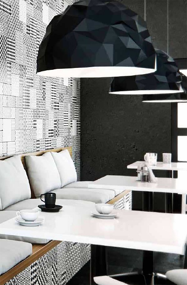 Modena range black & white