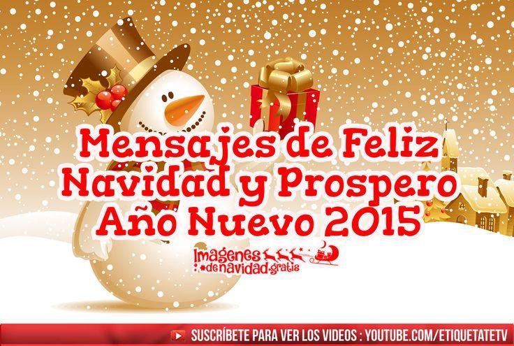 (LO + NUEVO)  Mensajes de Feliz Navidad y Prospero Año Nuevo 2015 ░▒▓██► http://imagenesdenavidad.gratis/mensajes-de-feliz-navidad-y-prospero-ano-nuevo-2015/