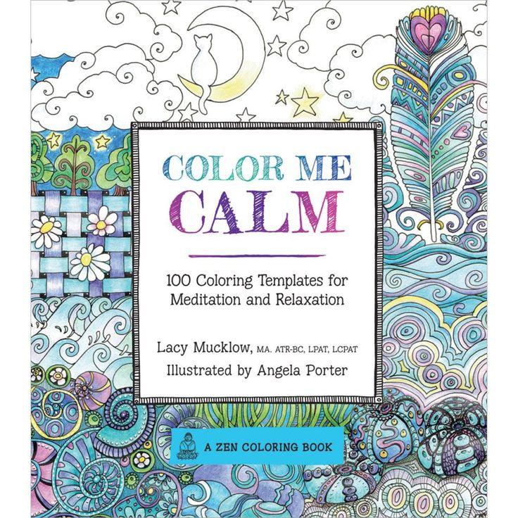 Color Me Calm Coloring Book • Race Point Publishing Books