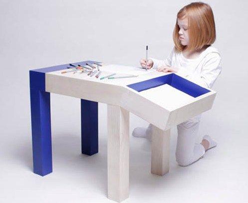 21 Contemporary Kids Desks!