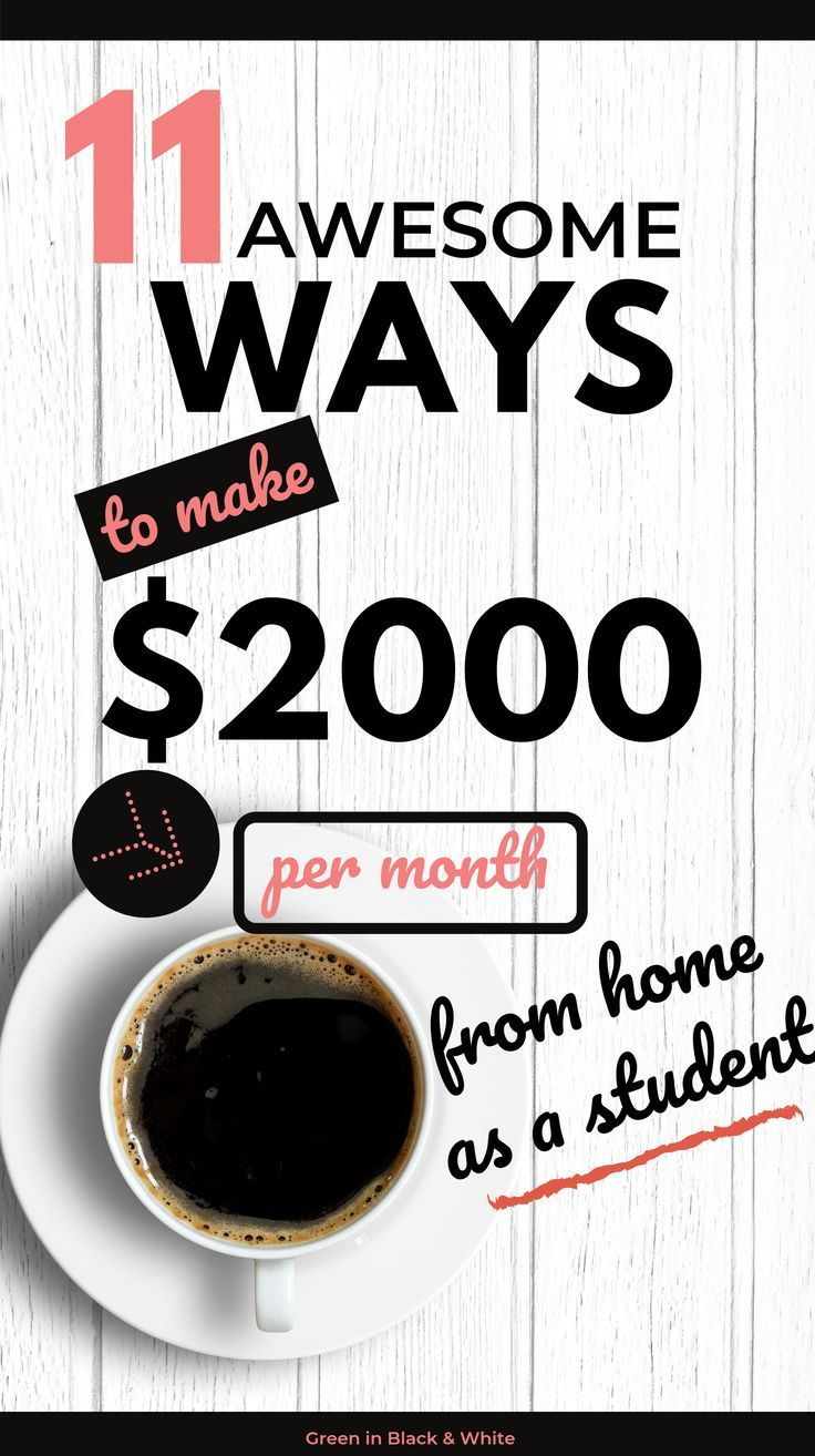 This post covers ways for students to make money online from home. It provides a… – Tami Brehse | Cabana State of Mind