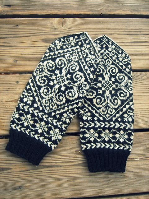 323 best Mittens images on Pinterest | Knit mittens, Knitting and ...