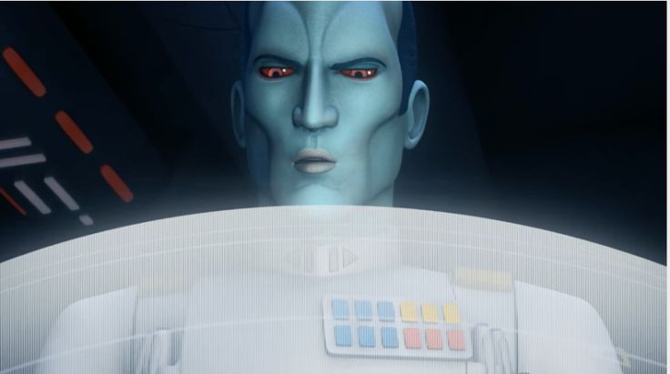 New Star Wars Rebels Footage Is Thrawnalicious