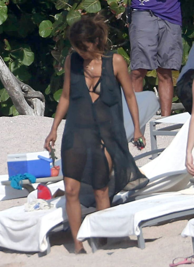 Halle Berry and Olivier Martinez on Vacation in Mexico 2016 | POPSUGAR Celebrity