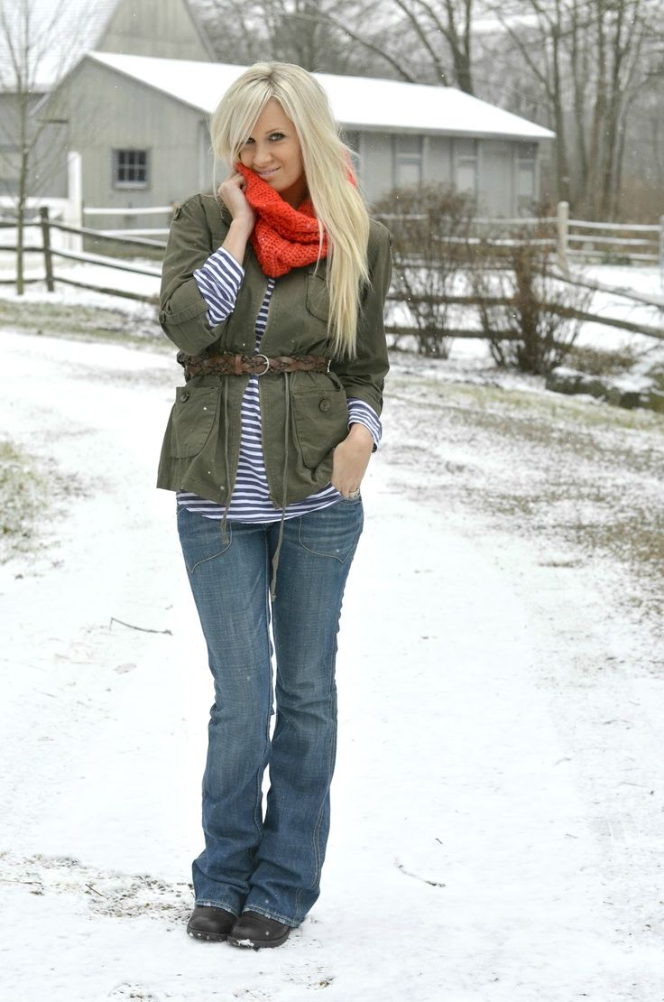 cute and modest winter outfit