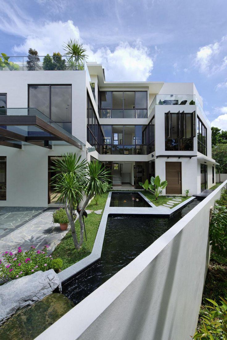 15675ab3f3601f99a041ec7942bd902b modern house exteriors house exterior design 43 best images about facades on pinterest,Paras Homes Floor Plans