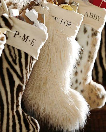 chic stockings #xmas