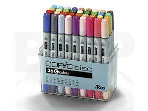 Copic Ciao set 36C, 36 colors