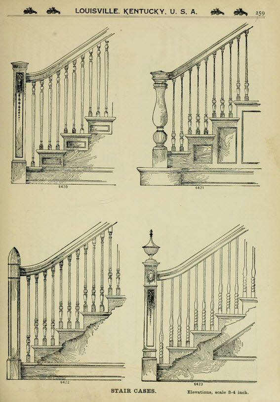 Twisted Handrails