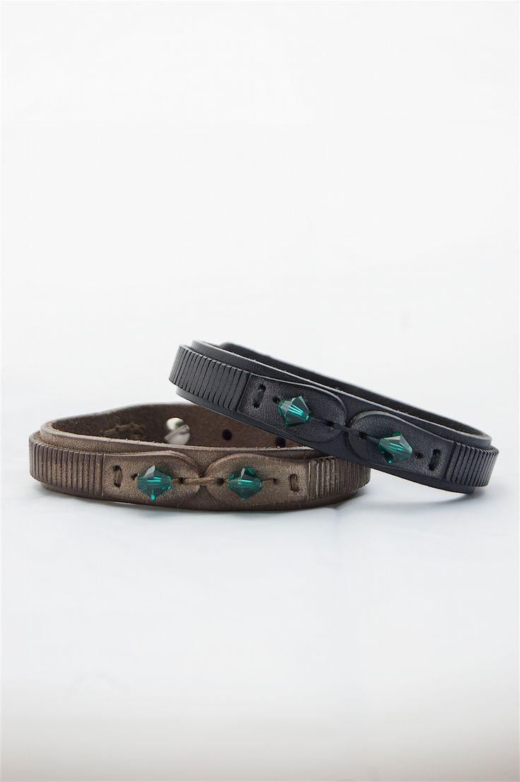 leather man's bracelet #moda #look #italy #leather #fashion #man #vogue #man #bracelet