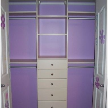 Need to paint the back of the closets!
