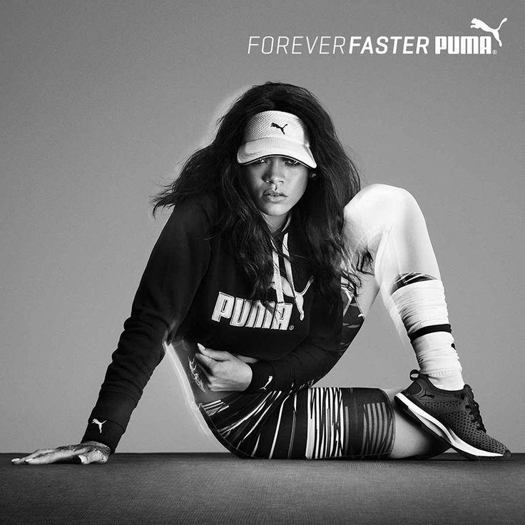 #Rihanna is Sitting Pretty in New #PUMA #Campaign