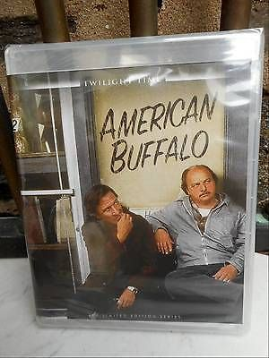 AMERICAN BUFFALO (1996) Blu-Ray - Dustin Hoffman- Twilight Time OOP  - BRAND NEW