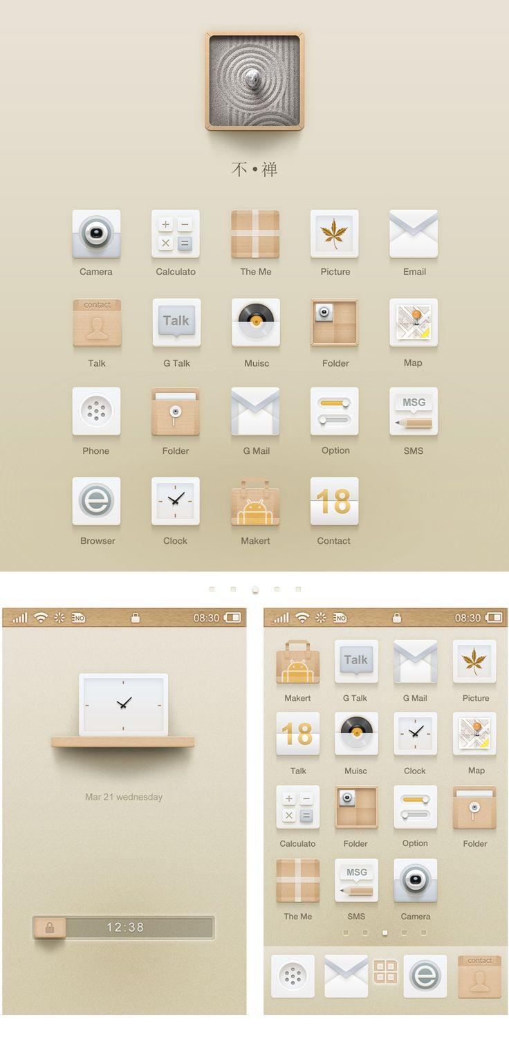 "More from the same designer. 查看《【设计分享】手机界面""不禅""小教程》原图,原图尺寸:900x1834"