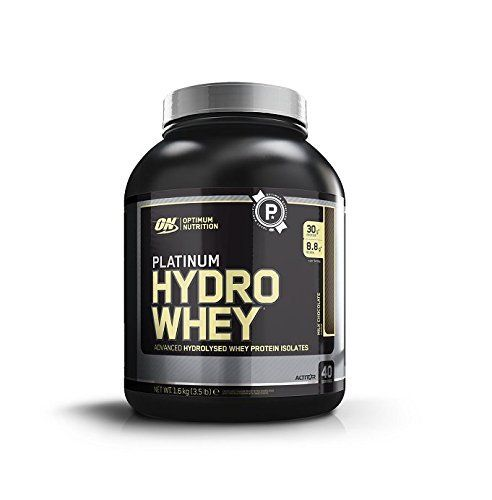 Optimum Nutrition Platinum Hydrowhey Protein Powder, 100% Hydrolyzed Whey Protein Powder, Flavor: Turbo Chocolate, 3.5 Pounds //Price: $48.78 & FREE Shipping //     #hashtag4