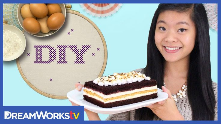 Kawaiisweetworld shows you how to make a S'mores ice cream cake in just a few easy steps! Get all the delicious details right here. Emoji Macaroons! - http:/...