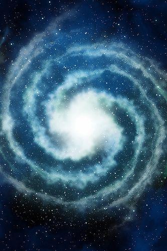 A Spiral Galaxy ❀ #Kaleidoscope