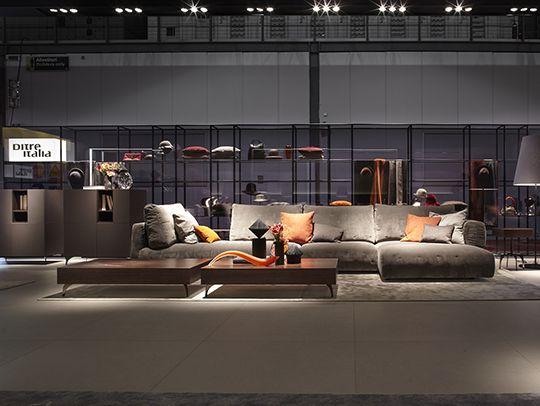 Designwear: il nuovo stile di divani ed imbottiti DiTre Italia presentato al Salone del Mobile 2015 - http://blog.ditreitalia.com/2015/04/designwear_ditre_salonedelmobile/