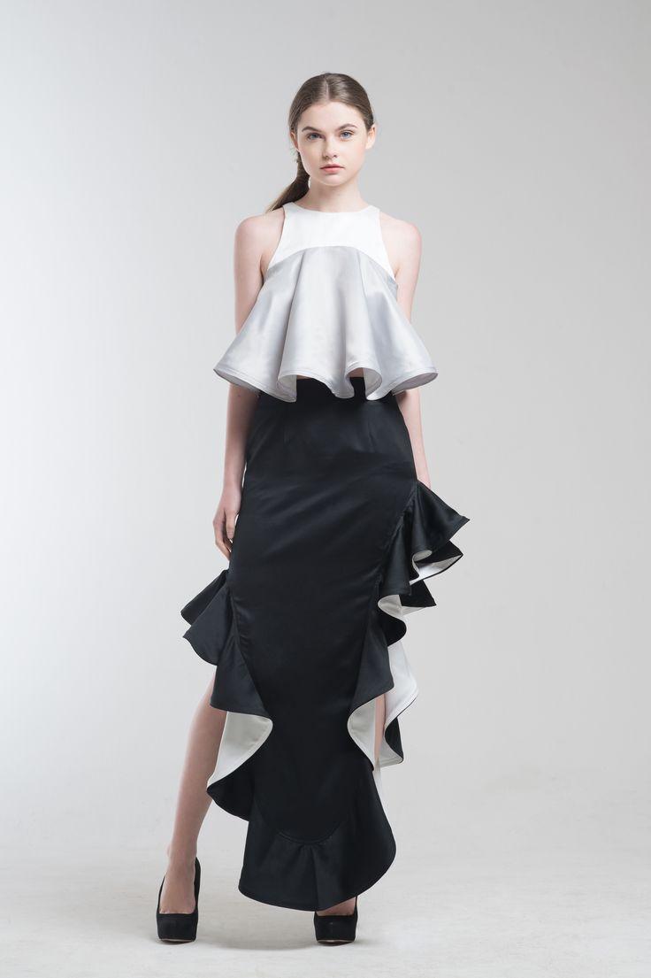 Ardele Swing Top and Ralph Mermaid Skirt from Jolie Clothing  #JolieClothing www.jolie-clothing.com  #Fashion #designer #jolie #Charity #foundation #World #vision #indonesia  #online #shop #stefanitan #fannytjandra #blogger
