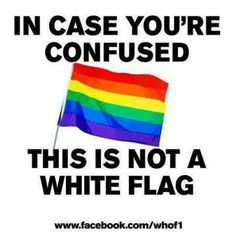 This is not a White Flag!