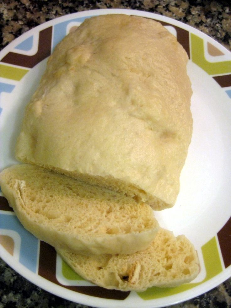 steamed dumpling, cut into slices