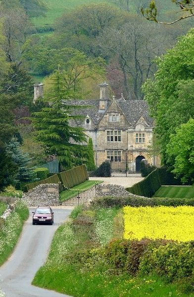 Mountain Manor ✽>- ...Manor House - Upper Slaughter, Cotswolds