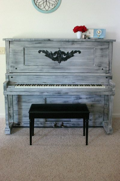 58 Best Shabby Chic Pianos Images On Pinterest Piano