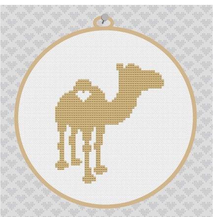8 best cross stitch images on pinterest cross stitch designs camel silhouette cross stitch pdf pattern fandeluxe Gallery