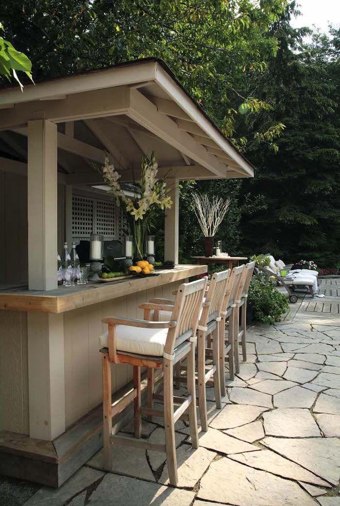 ▷ 1001 + Ideen und Bilder zum Thema Außenküche selber bauen – Miriam l