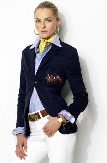 Preppy Style by Ralph Lauren #stylishat40 #cla…