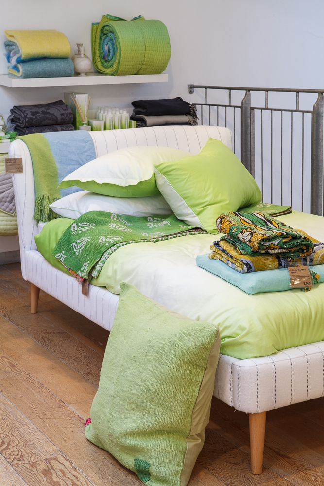Designers Guild London SS14 Bed Linen Collection at 267 Kings Road, SW3